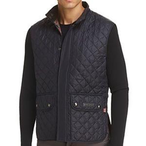 Belstaff Quilted Reversible Waistcoat Vest